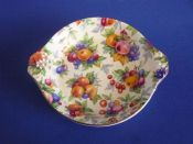 Vintage Royal Winton 'Evesham' Chintz Dish c1951